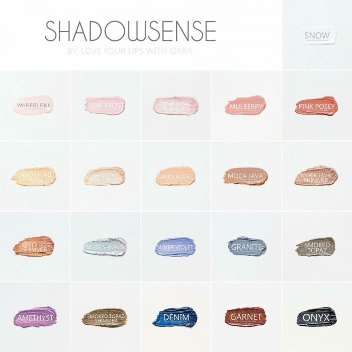 ShadowSense Colors Among The Young