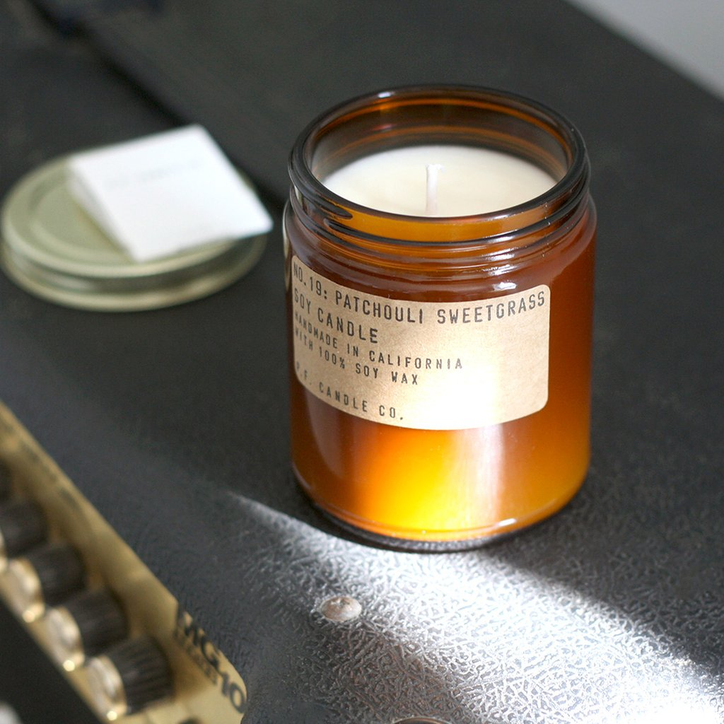 N° 19 Patchouli Sweetgrass P.F. Candle Co.