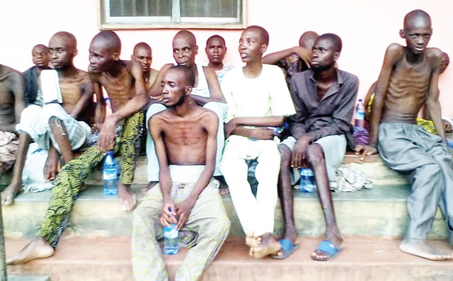 Police Discover Horror Detention Centre Inside Mosque In Ibadan, Rescue 259 People (Photos)