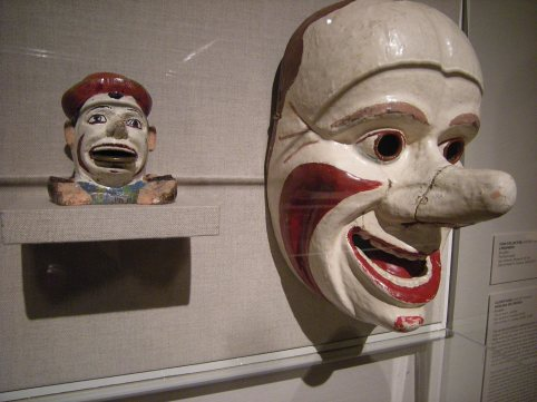 Carnaval masks (?)