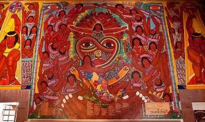 sala quetzal mural