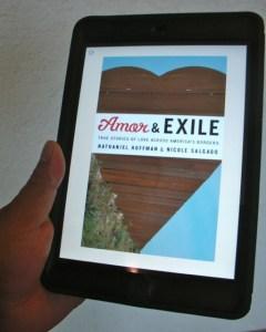 Amor and Exile for Kindle on iPad mini
