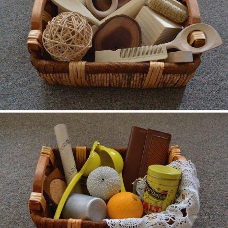 cesta de los tesoros