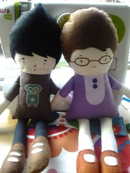 Muñeca personalizada begocosas