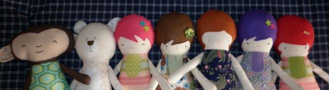 Muñecas hechas a mano de Begocosas