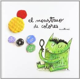 El Monstruo de colores de Anna Llenas