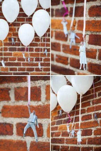 Ideas sobre decoración con globos de helio