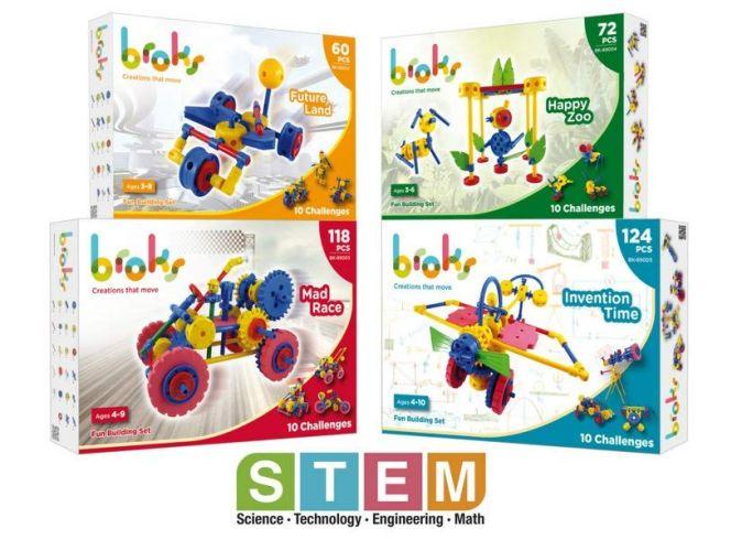 broks juguetes stem