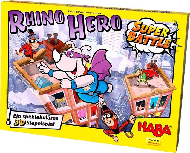 rhino hero juego