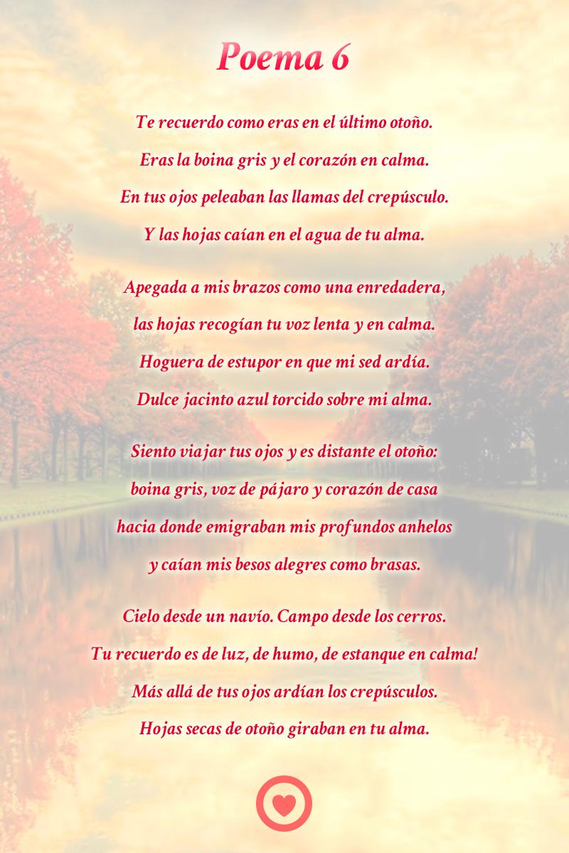 Poemas De Neruda Pablo Cortos