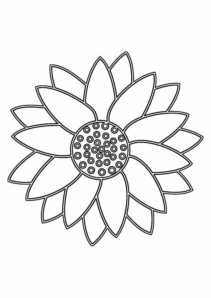 São moldes que vão fazer a alegria das crianças em atividades com. 39 Desenhos de Girassóis para Colorir