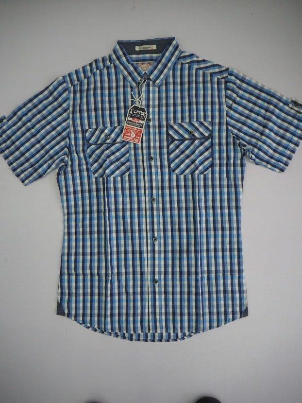 Big Blue Checked Shirt