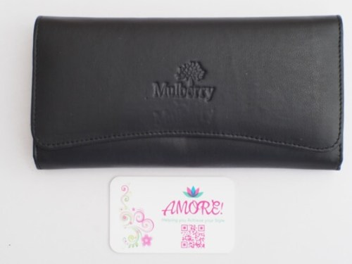 Black Mulberry Wallet