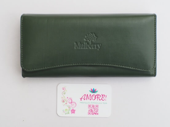 Jungle Green Mulberry Wallet
