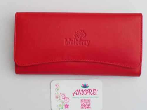 Red Mulberry Wallet