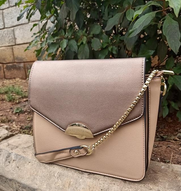 Copper sling bag