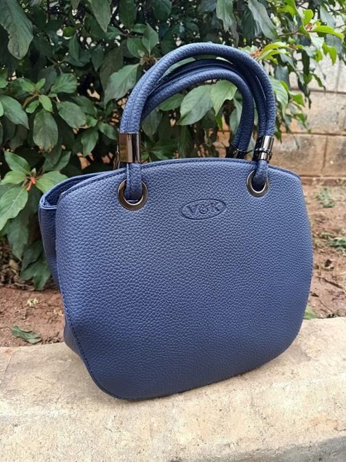 Navy blue petite bag