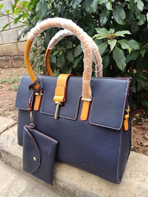 Nay blue & orange bag