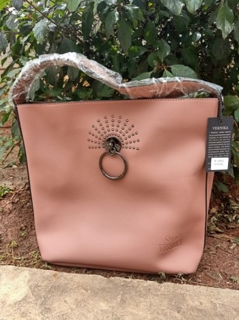 Pinkish ring bag