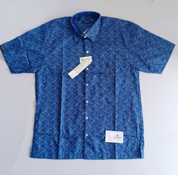 Blue tribal shirt
