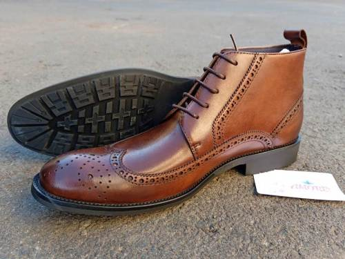 Coffee oxford boot