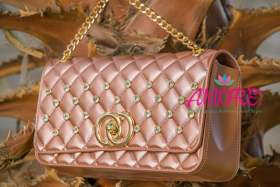 Pink party sling bag