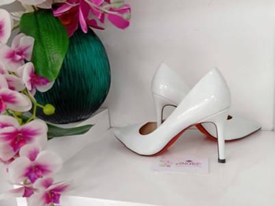 White court heel