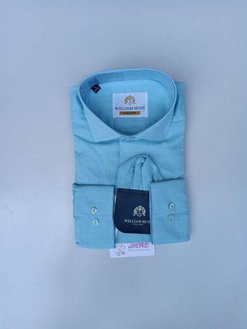 Turquiose blue plain shirt
