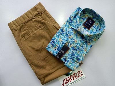 Shirt and Khaki Combo 13