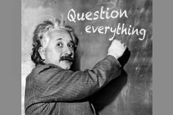 Einstein and questioning ~ A More Beautiful Question by ...