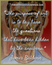 James Baldwin on the purpose of art