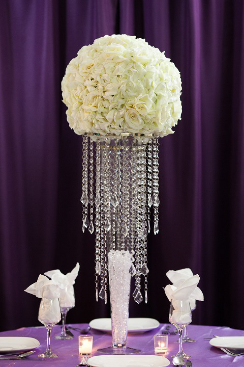 Elegance Centerpiece Rental - Weddings, Sweet 16, New Jersey on flower table runner, flower chair covers, flower ball rentals, lighting rentals,