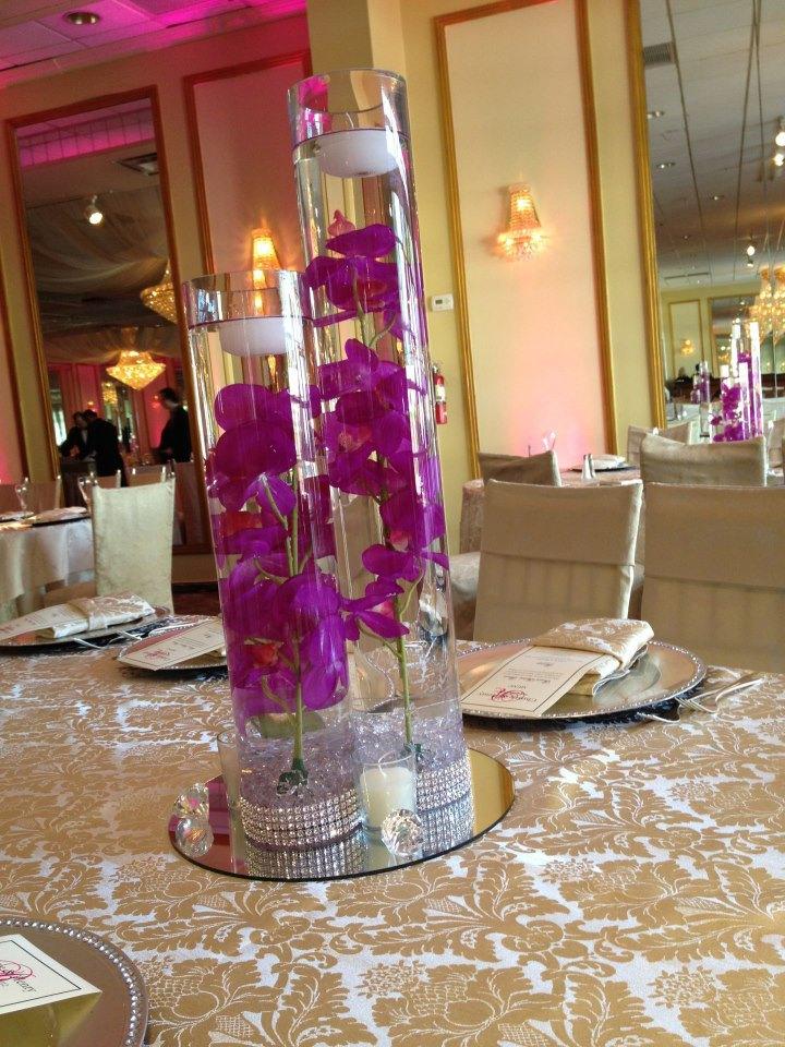 Romance Centerpiece Rental Weddings Sweet 16 New Jersey