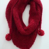 Ancora tricot: come realizzare uno scialle/sciarpa