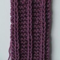 Scaldacollo o sciarpa a maglia: tutorial fotografico del punto