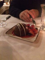 Callebaut Chocolate Mouse Bombe