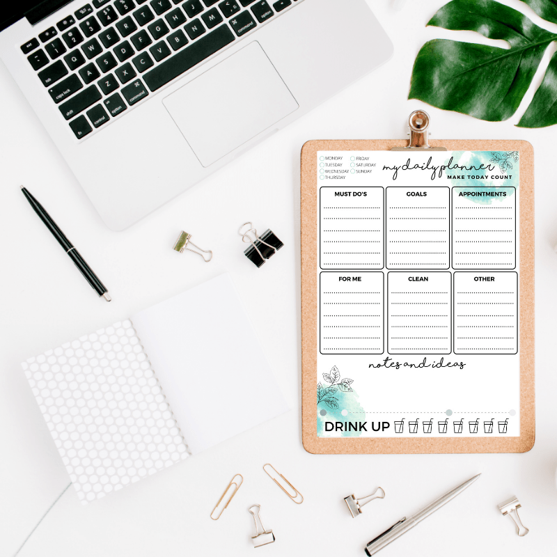 A4 My Daily Planner Printable