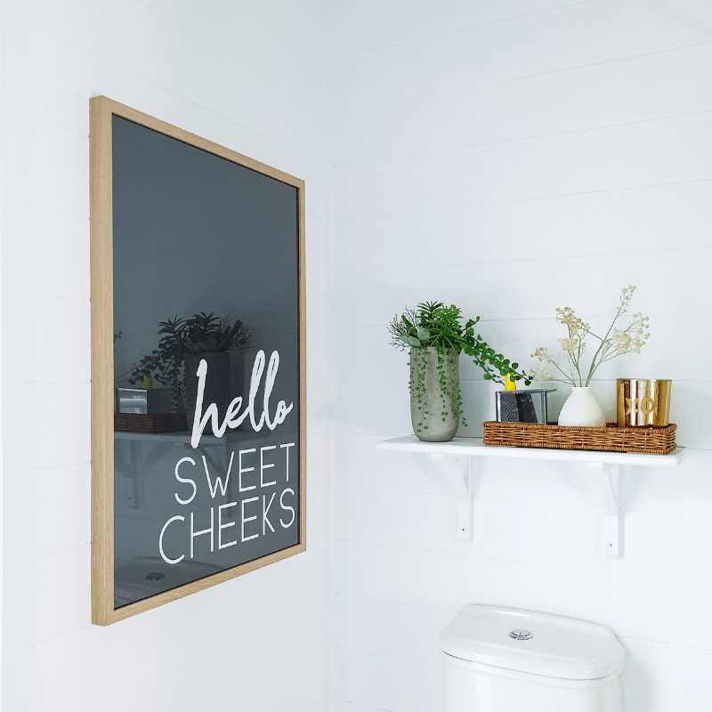 Hello Sweet Cheeks Poster Printable Wall Art
