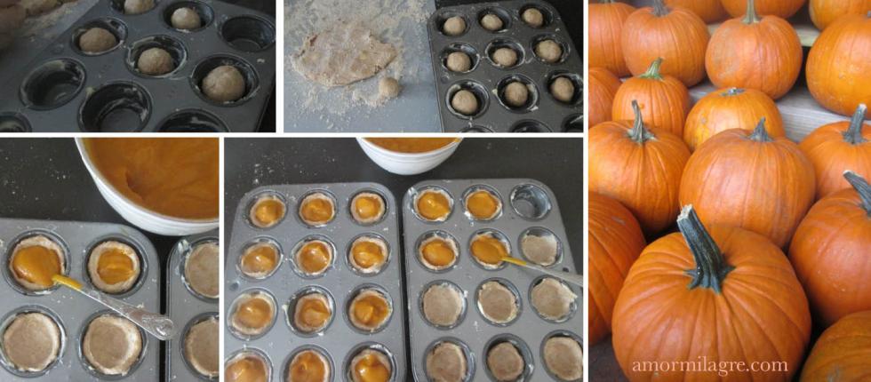 Spiced Pumpkin Tarts Recipe and Photography by amormilagre.com Organic Recipes, Paleo, Healthy. Artwork, Stationery, Organic Apparel, and Custom Gifts. No Sugar, Sugar free. Pumpkin Pie. Pregnancy, Baby, Children.