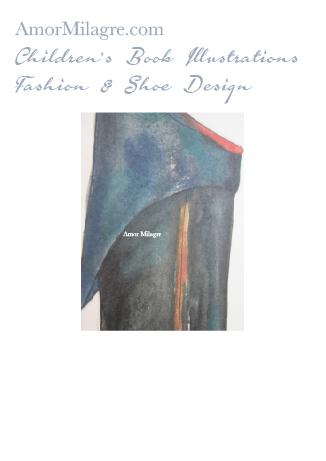 Amor Milagre Fashion & Shoe Design 1 Children's Book Illustrations Shoe Design Book Moliere Boot Black Leather Shoe Design amormilagre.com