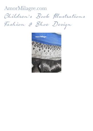 Amor Milagre Fashion & Shoe Design Detail 1 Lace Blue Velvet Black Sculptural Heel Children's Book Illustrations Shoe Design Book Dream Shoe Design amormilagre.com