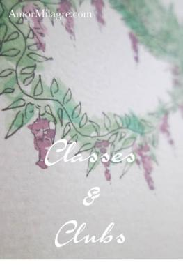 Amor Milagre Create an Art Gallery! CLASSES & CLUBS amormilagre.com