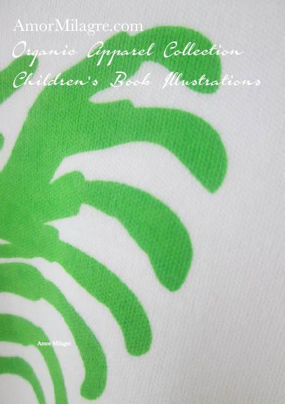 5dcd956c7 Amor Milagre Green Rib Heart Halloween Organic Cotton Toddler Graphic Tee  Shirt Collection Children's Book Unisex