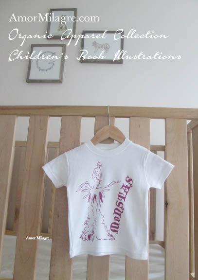 Amor Milagre Purple Monster Monstas Book Halloween Organic Cotton Toddler Graphic Tee Shirt Collection Children's Book Unisex amormilagre.com baby