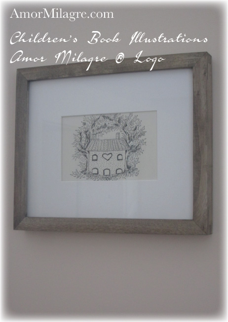 Amor Milagre® Official Logo House of Love and a Peaceful Home Loving Home Housewarming Gift The Shop at Dove Cottage Children's Book Illustrations beautiful for all spaces and ages, especially in a nursery amormilagre.com . All Rights Reserved Amor Milagre.