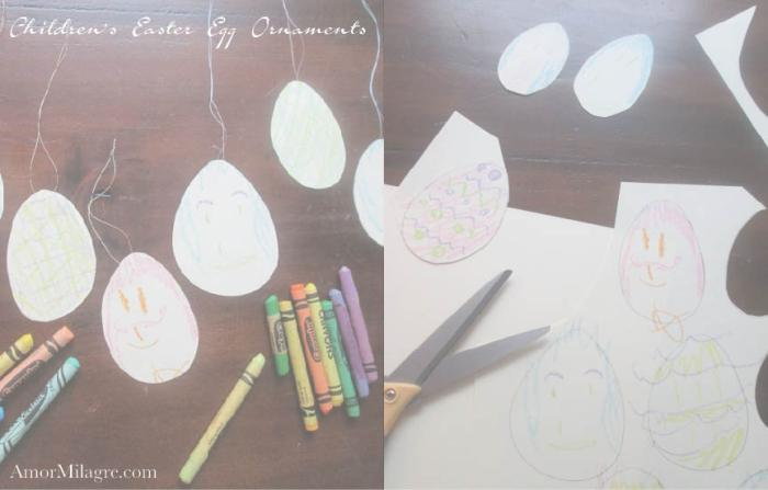 Amor Milagre Spring Easter Egg Tree Ornaments Children Baby The Crayon Club 2018 Art & Design amormilagre.com