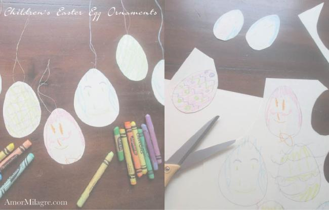 Amor Milagre Spring Easter Egg Tree Ornaments Children Baby The Crayon Club 2018 Art & Design amormilagre