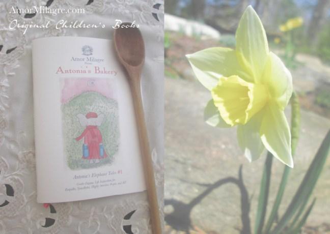Grand Opening Ethical Bookshop 2 Amor Milagre Presents Antonia's Bakery organic original children's book Baby & Child amormilagre.com
