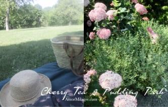Amor Milagre Cherry Tea & Cacao Pudding Park Organic Vegan, Ethical Books, Floral dress, french market basket bag, Art & Design amormilagre.com