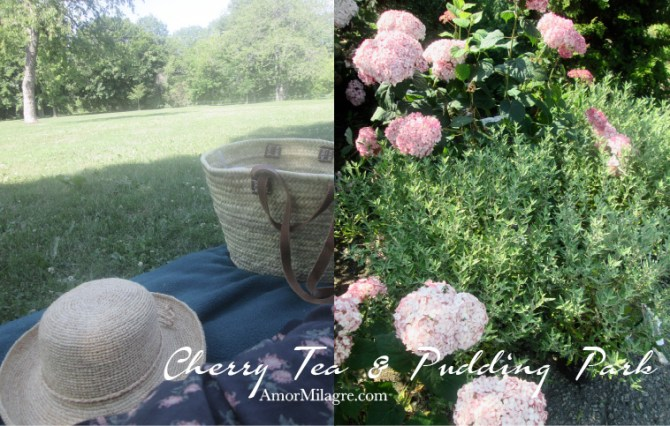 Amor Milagre Cherry Tea & Cacao Pudding Park Organic Vegan, Ethical Books, Floral dress, french market basket bag, Art & Design amormilagre.com